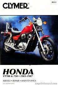 1983 1987 honda vt 700 750 motorcycle repair service manual by clymer Honda Motorcycle Service Manual PDF at Honda Motorcycle Repair Diagrams