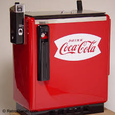 Old Soda Vending Machines Interesting Vintage Coke Slider Chest Cooler Vending Machine