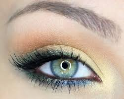 eye makeup for blue or green eyes did this my hazel blue green eyes it looks awesome