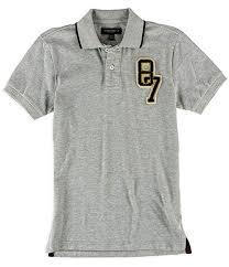 Aeropostale Mens Varsity 87 Rugby Polo Shirt