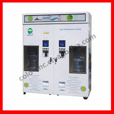 Water Dispenser Vending Machine Enchanting Outdoor Automatic RO Pure Water DispenserVending Machine With GSM