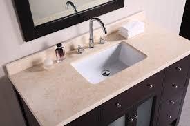 adorna 48 inch contemporary single sink bathroom vanity set