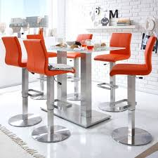 orange leather bar stools burnt best choice of for plans 0