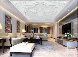 whole custom 3d wallpaper for walls 3d ceiling wallpaper murals 3d embossed modern minimalist european mural plasterboard ceiling mural uk 2019 from