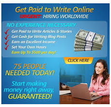 real writing jobs earn cash make money online get paid to write short articles
