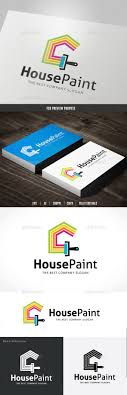 make paint brush logo design our logo maker design house paint logo template design logotype graphicriver