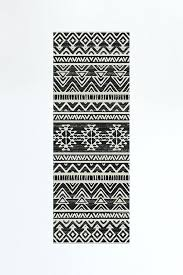 aztec print rug black and white aztec rug linear black black and white aztec outdoor rug