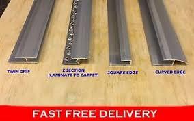 Image Is Loading Wood Amp Laminate Flooring Trim Edging Metal Strip