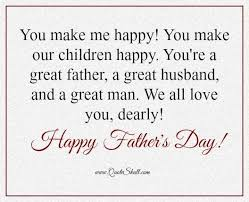 Father's Day Quote 24 Best Father's Day Quotes From Wife Images On Pinterest 7
