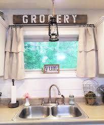 farmhouse kitchen curtains fabric