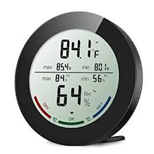 <b>ORIA</b> Indoor <b>Hygrometer Thermometer</b>, <b>Digital Humidity</b> Monitor ...