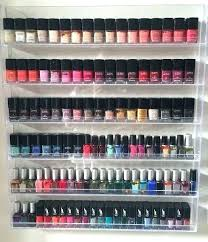 nail polish wall rack acrylic nail polish organizers makeup nail polish stand rack display organizer holder nail polish wall rack