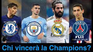 Manchester City PSG e Real Madrid-Porto: ecco chi andrà in finale di  Champions League - YouTube