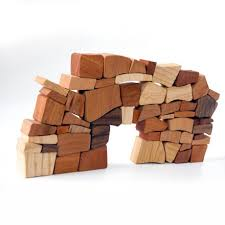 Wooden Brick Game Buy Christian Lessing The Wall Game online design100de Online Shop 64