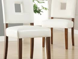 Kitchen Chairs  Beautiful Faux Leather Kitchen Chairs - Faux leather dining room chairs