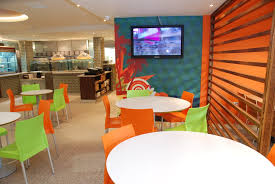 restaurant unions pan asian fast food restaurant loughborough university su gmp design