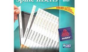 Avery 1 1 2 Inch Binder Avery Binder Templates 1 1 2 Inch Avery 1 2 Quot White Binder Spine