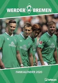 200 euro essensgeld pro monat. Werder Bremen 2020 29 7x42cm Fussballkalender Wandkalender Amazon De Bucher