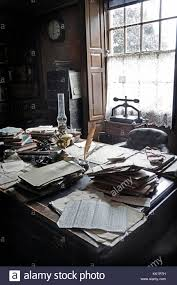 cramped office space. Victorian Solicitors Office - Stock Image Cramped Space I
