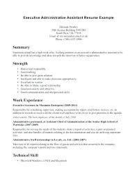 Combination Resume Sample Administrative Samples Of A Functional