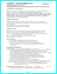Sample Resume For Oracle Pl Sql Developer Best of Oracle Forms Developer Resume Resume For Oracle Developer Oracle