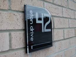 Small Picture Design My House Number Gallery of unique acrylic house signs and