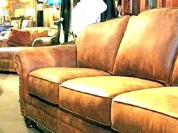 western leather furniture rustic sofa brown couch cowboy red chair chairs and ottomans custom p