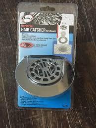 hair catcher shower drain chrome waste strainer filter net collectors stop clogs