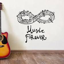 <b>Music Wall Decal</b> Vinyl Music Notes Wall Stickers Home Interior Art ...