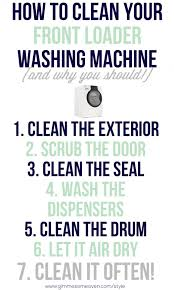 how to clean your front loader washing machine gimmesomeoven com style