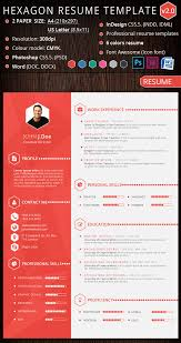 Visual Resume Template 15 Creative Infographic Resume Templates Free