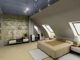 Bunt Himmelbett Dachschräge Schlafzimmer Ideen Dekorieren D