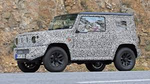 2018 suzuki truck.  truck 2018 suzuki jimny spied with previous generation to suzuki truck v