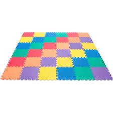 nontoxic rainbow ( colors) foam wonder mats  waterproof extra