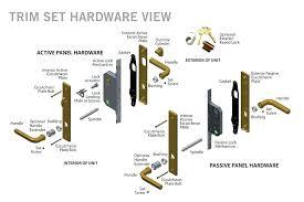 parts of a door latch door parts door latch parts names rv parts door latch