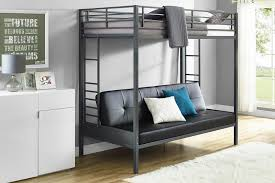 Loft Bed with Couch Underneath Leather