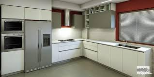 Stainless Steel Kitchen Designs Italian Modular Kitchen Design With Stainless Steel Appliances