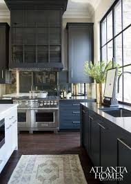 Wonderful Dark Kitchen Cabinets Colors Blue With Inspiration