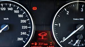 bmw brake warning message cause and fix