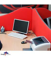 omega acoustic wavetop screens omega wave desk divider screen with desk clamps ed