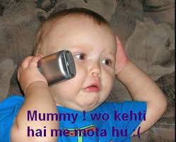 63 Funny Baby Wallpapers On Wallpaperplay