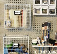 Peg Board Organization Organizing The Garage With Pegboard Storage Wall  Pegboard Home Improvement Pegboard Organization Tips