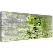 >lime green grey abstract painting wall art print canvas modern  oversized lime green grey abstract painting wall art print canvas modern 120cm wide 1360 for your display gallery item 1