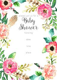 Free Baby Shower Invitations Printable Free Baby Shower Invitations Wonderful Baby Shower Invitations