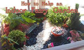 how to make an indoor fairy garden
