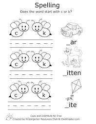 Here you'll find worksheets that help students understand consonant digraphs. Early Spelling Worksheet In 2020 Phonics Blends Worksheets Phonics Worksheets Kindergarten Resources