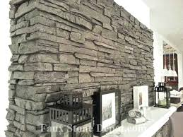 diy fake stone example of imitation faux boards of stone applied to a fireplace remodeling diy diy fake stone