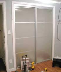wallpaper on closet doors ideas
