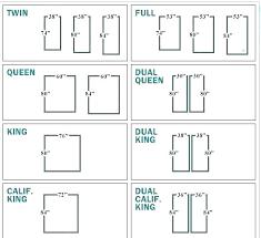 Bed Sizes Chart Projectsurrenderone Online
