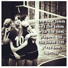 Volleyball Quotes Unique The Best Team